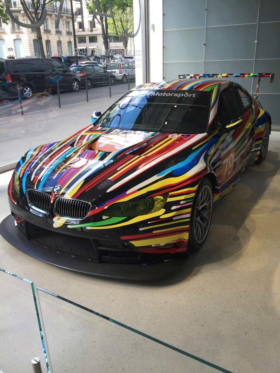Art CARS au BMW Brand Store  Arts_c22