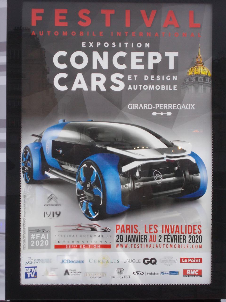 Exposition CONCEPT CARS et Design Automobile 2020 Concep11