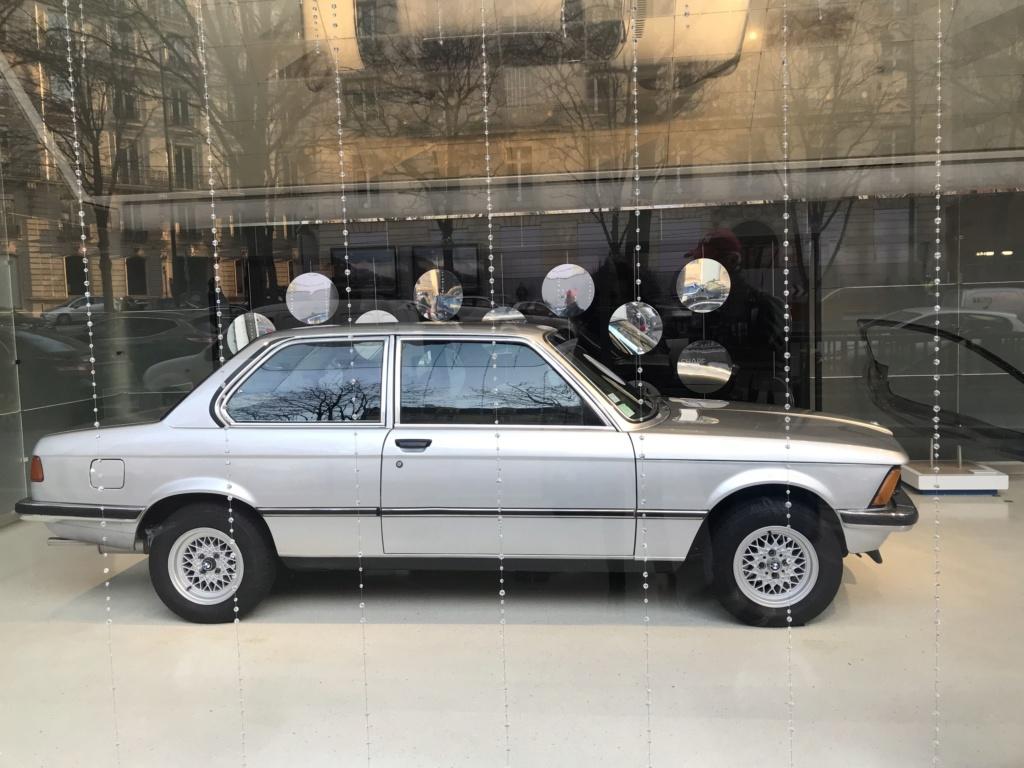 BMW Classic à l'honneur au BMW Brand Store de Paris E21_111