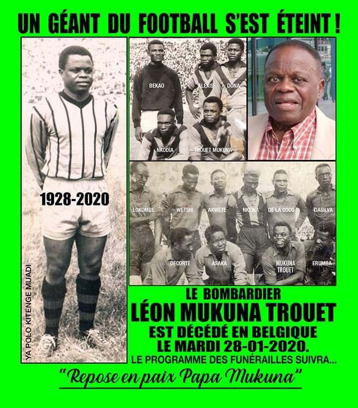 Leon Mukuna le 1er africain noir du championnat Belge est mort 84454510