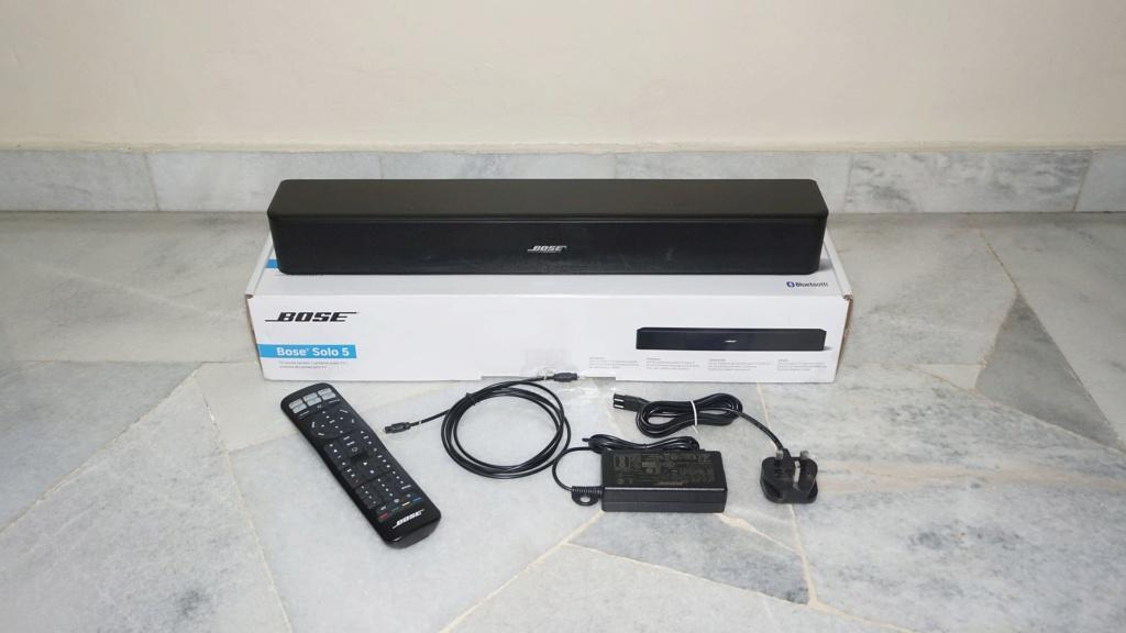 Bose Solo 5 TV Soundbar System 0117