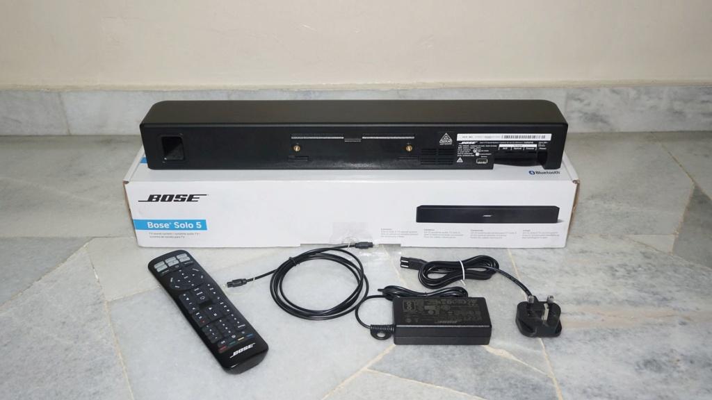 Bose Solo 5 TV Soundbar System 0216