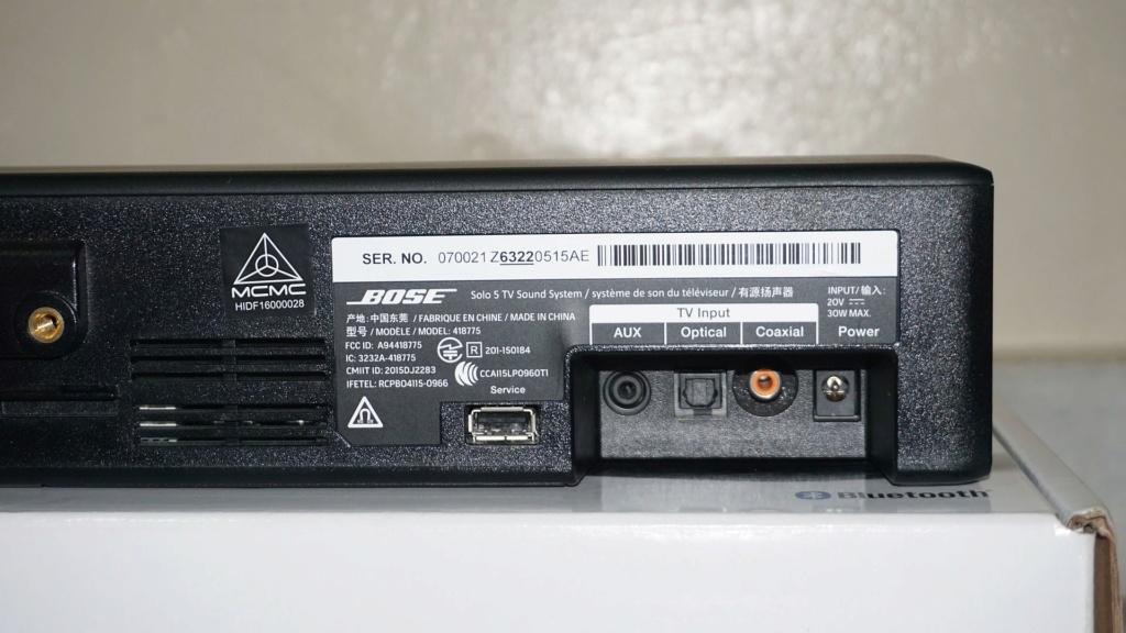 Bose Solo 5 TV Soundbar System 0412
