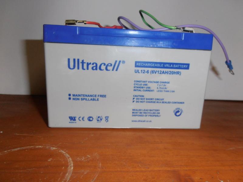 changer la batterie 6V wl pour batterie 6V seche, sans entretient. Pa270211