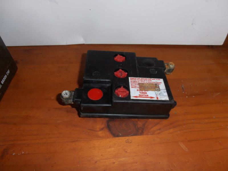 changer la batterie 6V wl pour batterie 6V seche, sans entretient. Pa270212