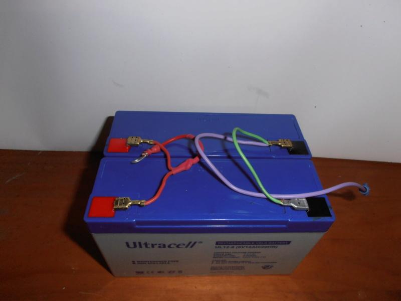 changer la batterie 6V wl pour batterie 6V seche, sans entretient. Pa270213