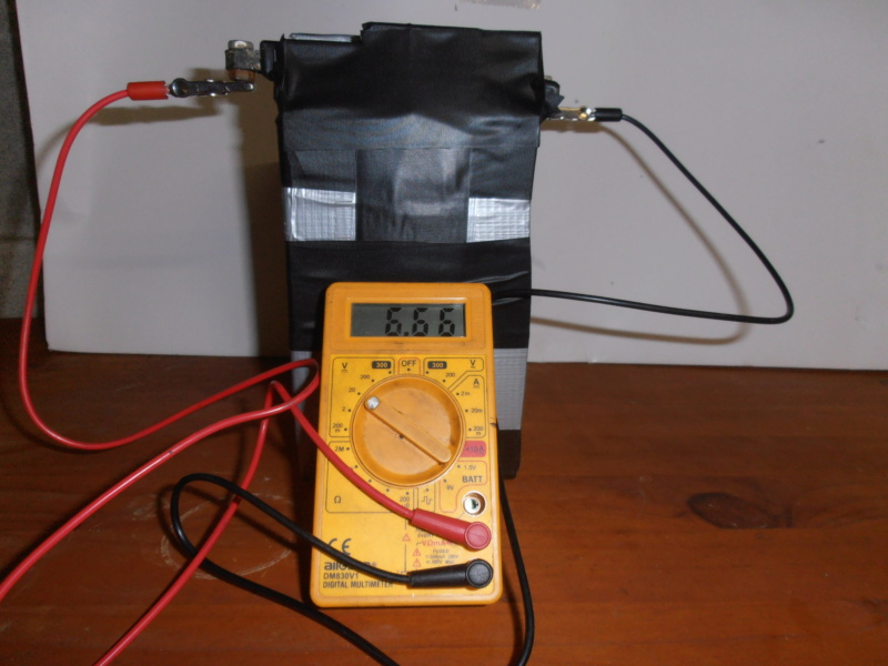 changer la batterie 6V wl pour batterie 6V seche, sans entretient. Pa280210