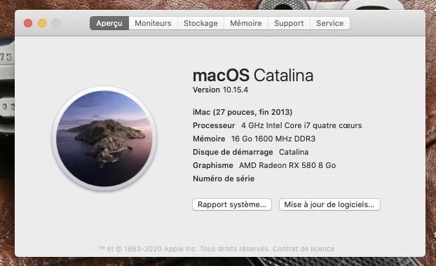 Mise a jour macOS Catalina 10.15.4 (19E266) Captur24