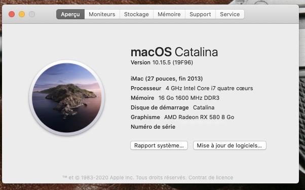 Mise a jour macOS Catalina 10.15.5 (19F96) Captur26