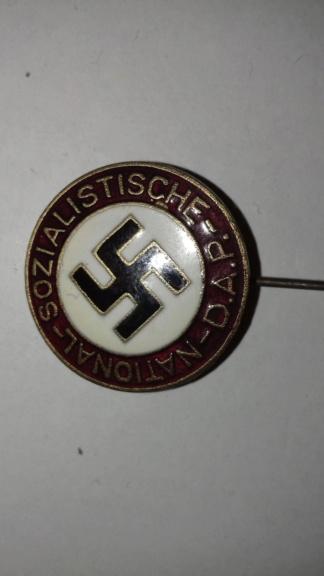 Badge NSDAP 20200487