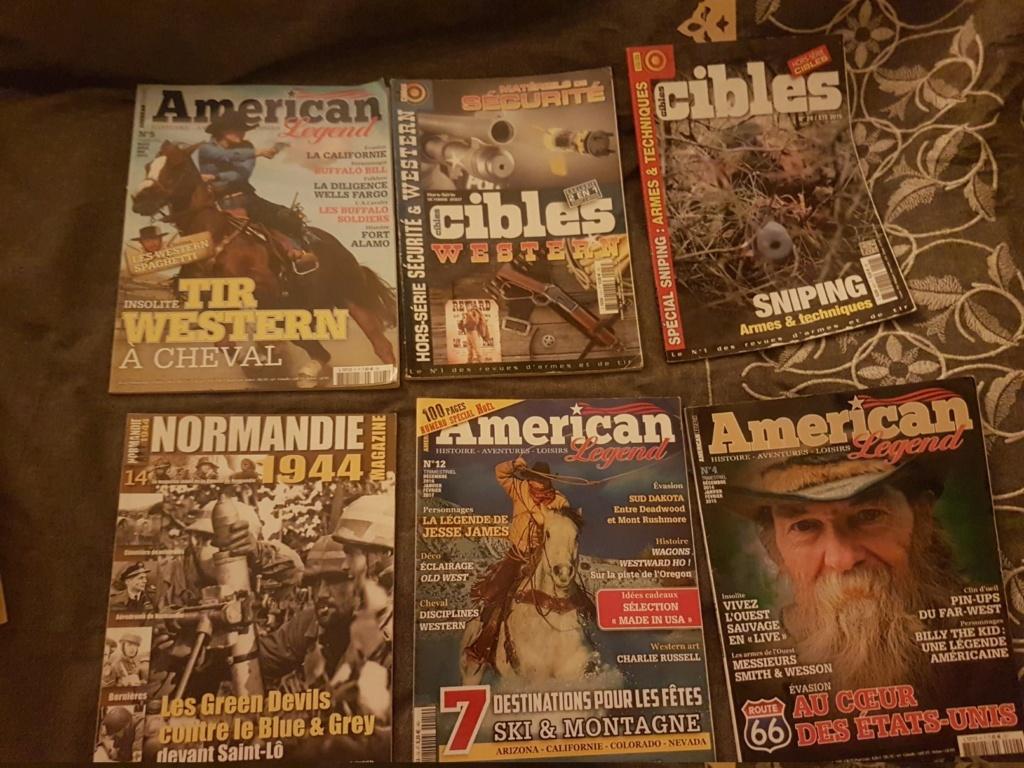 (vendu) American Legend & cible hors séries western  20190122