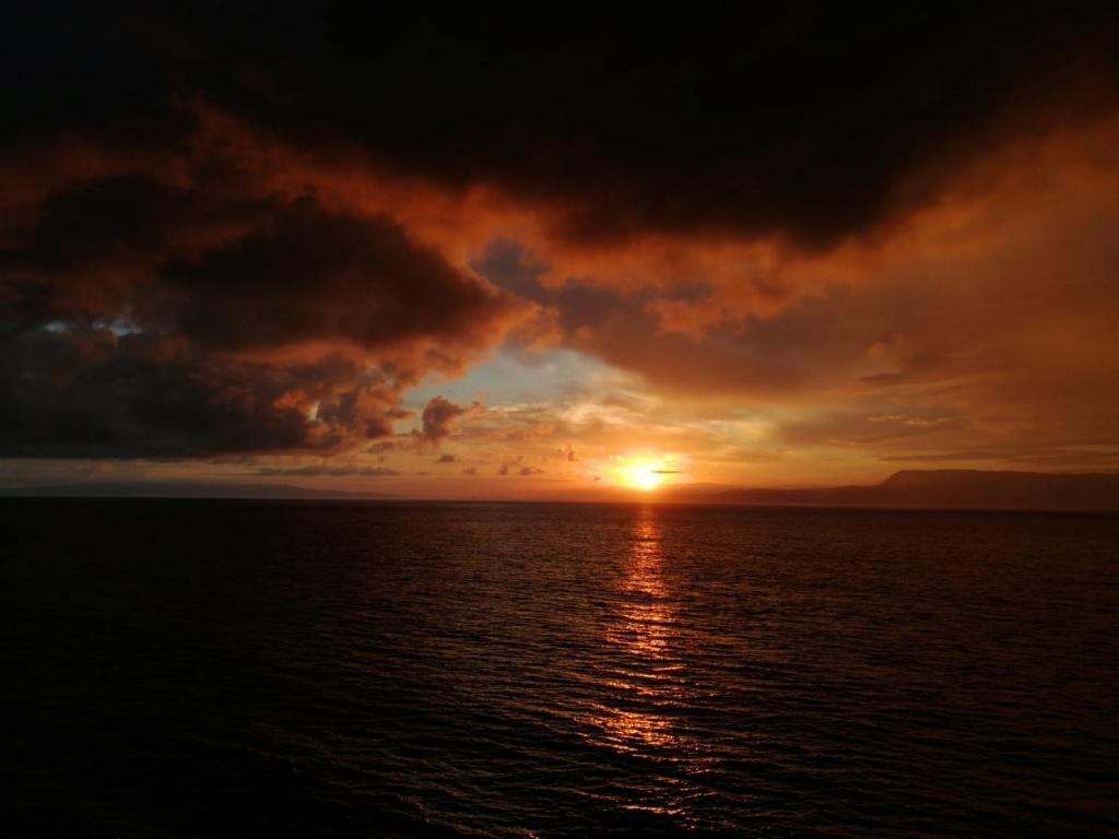 Tramonto o alba sul mare? Img-2045