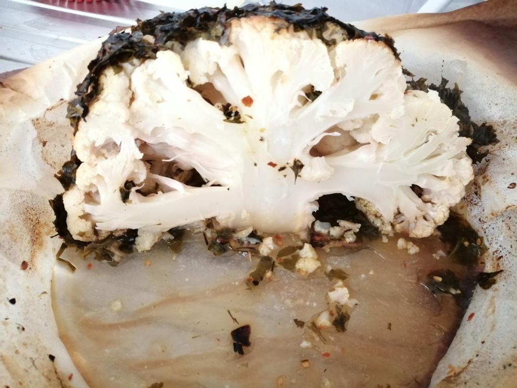 Cavolfiore arrosto in agrodolce Img_2033