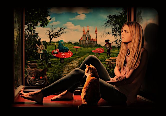 "Упражнение ""Алиса в стране чудес"". A_210"