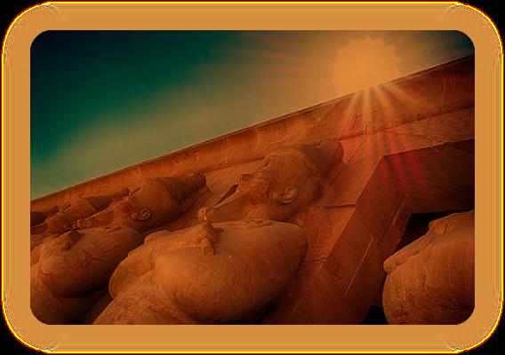 Западные Фивы, Дейр Эль-Бахри, вечность Царицы Хатшепсут. Ia_iai10