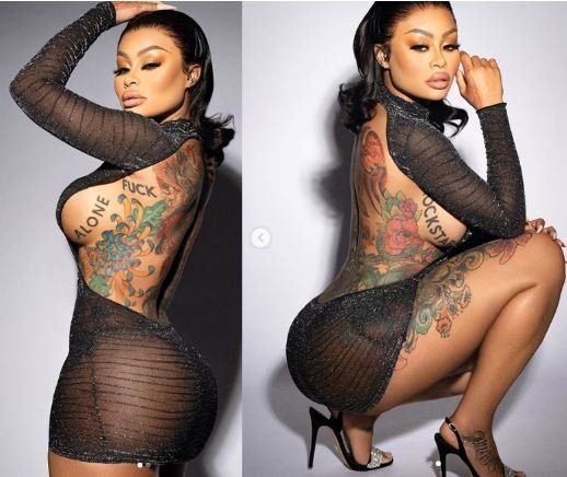 Blac Chyna Showcases Plenty Of Side Boobs And Backside (See Photos) 1-18311
