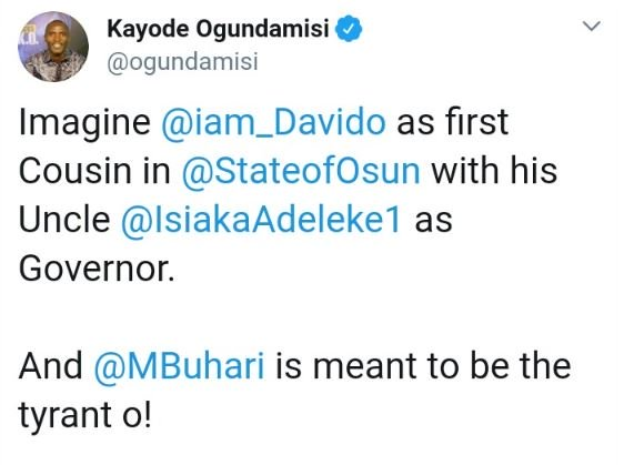 """""""You Are Useless"""" — Davido Blasts APC Supporter On Twitter 1-19210"""