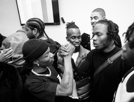 Marlians For Life – Wizkid Declares Himself As Marlians As He Shares Picture With Naira Marley 10472311