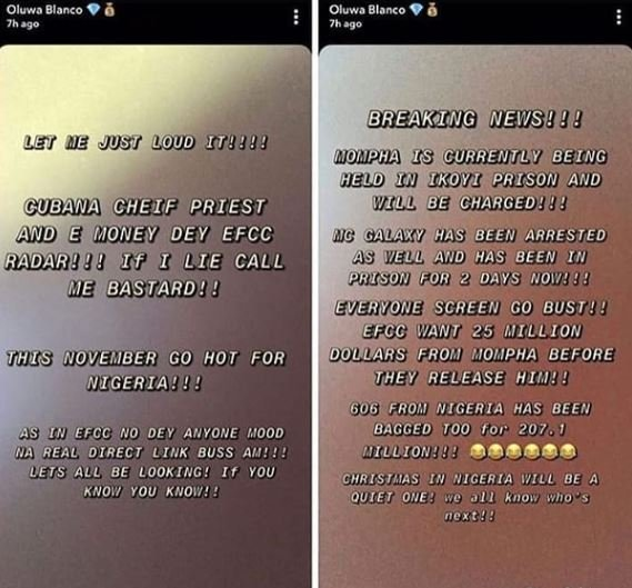 MC Galaxy And Cubana Chiefpriest In Trouble As EFCC Comes After Them (Read Details) 2-810