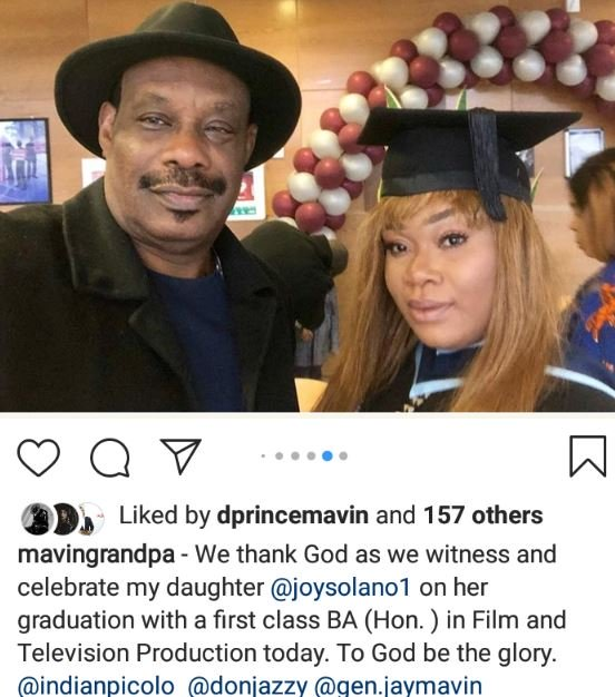 Don Jazzy's Sister Graduates With A First Class As Parent Shares Pictures 4-2610