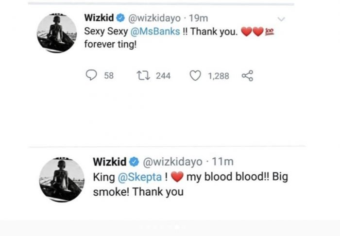 Wizkid Appreciate Naira Marley, Burna Boy, Olamide & Others For The Shutdown of His Show 7-2-7010