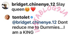 Tonto Dikeh Rejects 'Slay Queen' Tag; Insists She Is A King A-1310