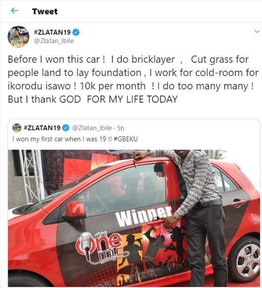 I Won My First Car When I Was 19, I Did Bricklayer – Zlatan Reveals Davido41