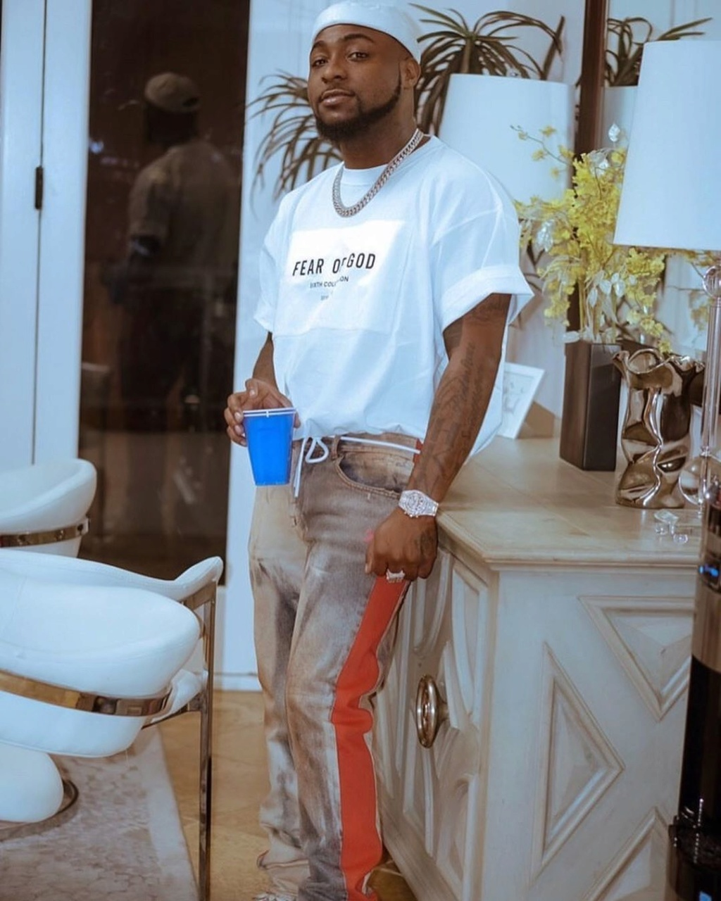 False Pregnancy : Davido Replied A Fan Who Condemned The Arrest Of Two Ladies  Davido43