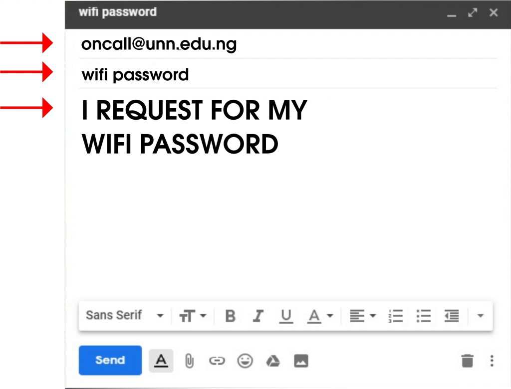 UNN School Email Address & Wifi Password How-to10