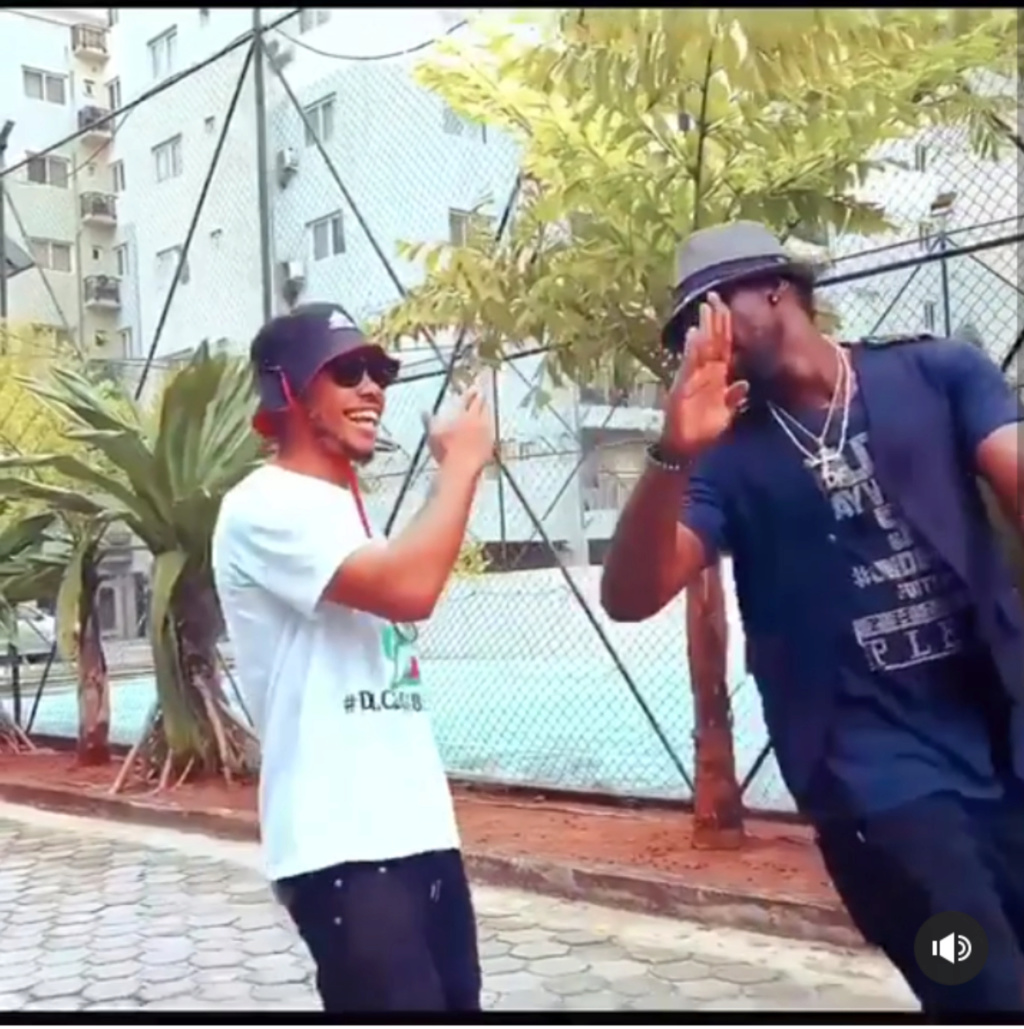 "Watch As Poco Lee and Don Flexx Dance to Burna Boy's ""Collateral Damage""  Inshot13"