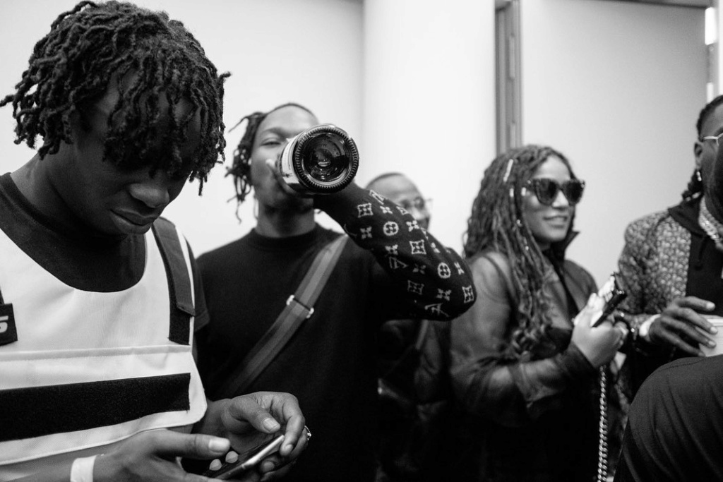 Naira Marley Shared Photos Of Him, Wizkid and Other Artistes at O2 Arena Show in Londom Naira_11
