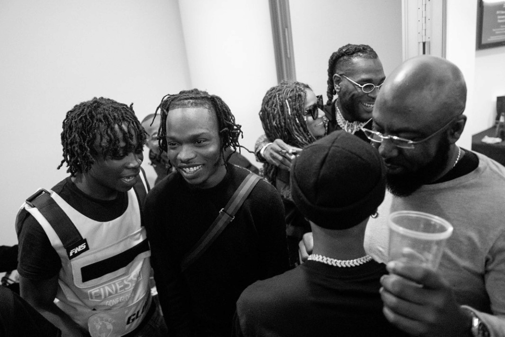 Naira Marley Shared Photos Of Him, Wizkid and Other Artistes at O2 Arena Show in Londom Naira_12