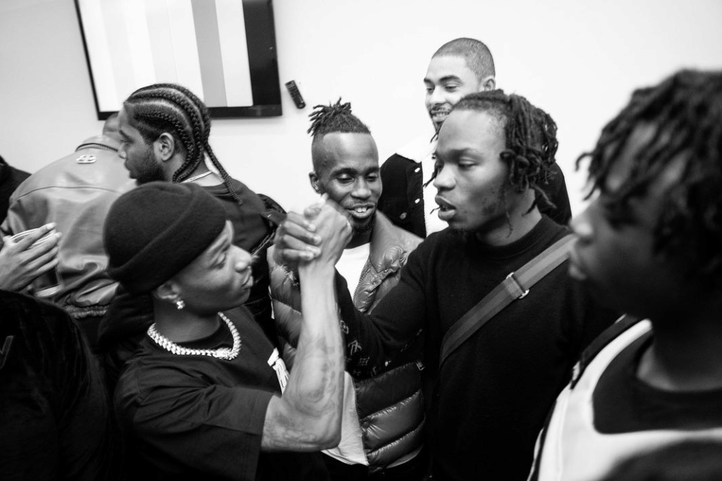 Naira Marley Shared Photos Of Him, Wizkid and Other Artistes at O2 Arena Show in Londom Naira_13