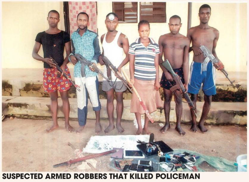 Notorious Robbers Who Killed 10 Policemen, Terrorized Adamawa, Finally Nabbed Suspec10