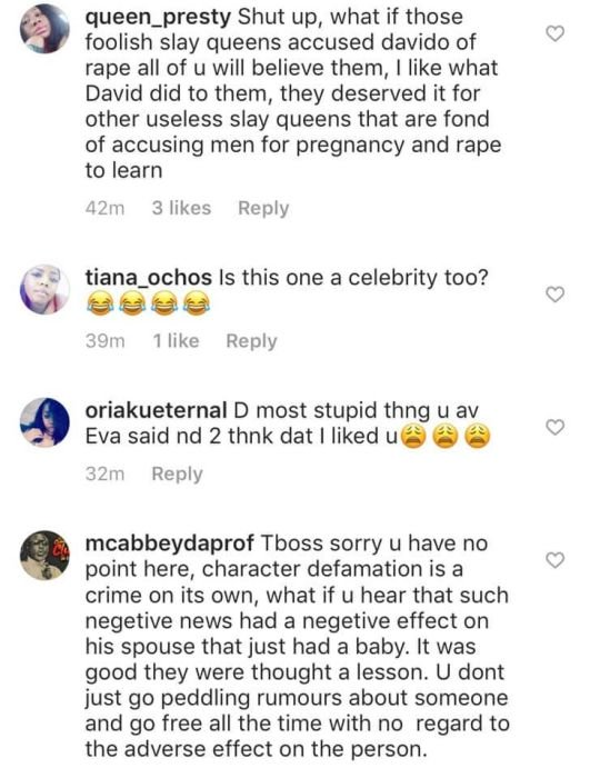 """Nigerians Attack Tboss For Her Comment On Davido's Reaction To The """"Fake Pregnancy Saga"""" Tboss-10"""