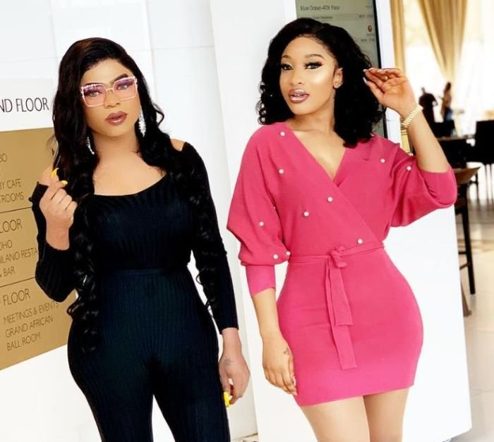 Tonto Dikeh Threatens To Block Bobrisky On Instagram If He Tries To Do This (Watch Video) Tonto-13
