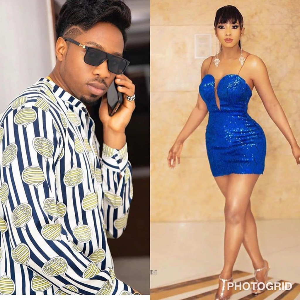 """See What Bbnaija's Ike Said After Being Trolled On Social Media For """"Following Mercy Everywhere She Goes"""" Vera_b12"""