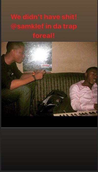 Wizkid Shares An Epic Throwback Picture Of When He Has Nothing With Samklef Wiz-x-10