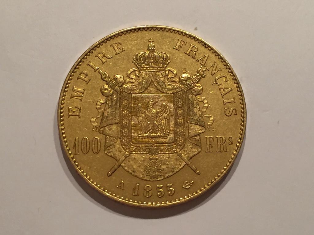 100 Francs Or Napoleon III  1855 A Img_6510
