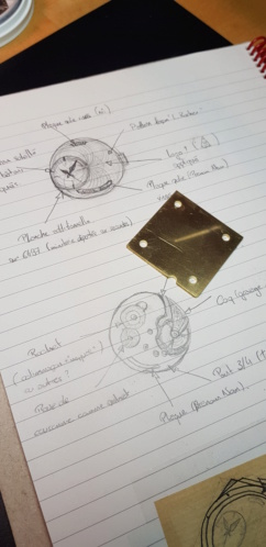 Prototype sur base ETA 6497. 20190211
