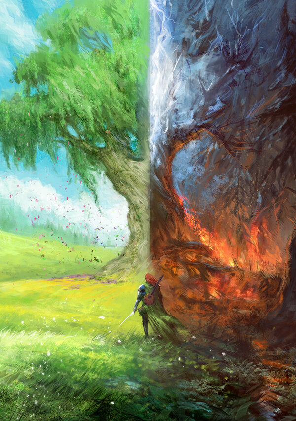 El arte de Call to Adventure: The Name of the Wind Expansion Thebro10