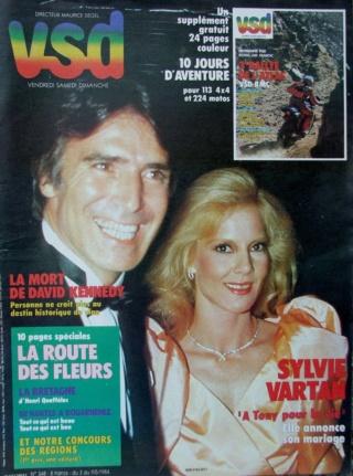 Sylvie dans 2 films ces jours ci 198410