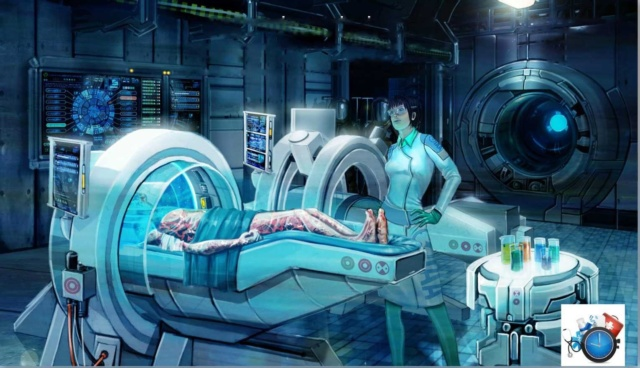 Елена Капульник - Кибернетические медицинские лаборатории МКК на марсианских базах 129610