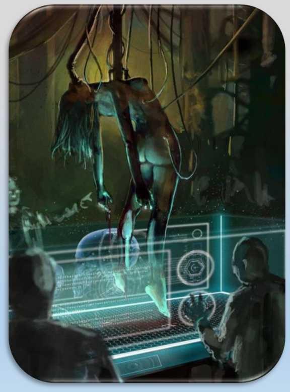Елена Капульник - Кибернетические медицинские лаборатории МКК на марсианских базах 1444210