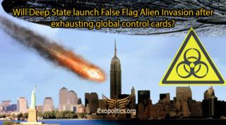Майкл Салла - Запустит ли глубинное государство инопланетное вторжение под фальшивым флагом после исчерпания глобальной карты контроля? 2 части Deep-s10