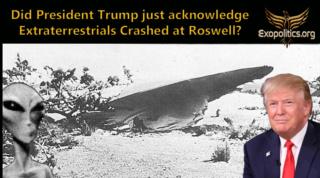 Майкл Салла - Признал ли президент Трамп крушение инопланетян в Розуэлле? Did-tr10