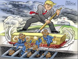 Питер Мейер - Q и команда Трампа побеждают Глубинное государство изнутри (в 3 частях) Trump-11