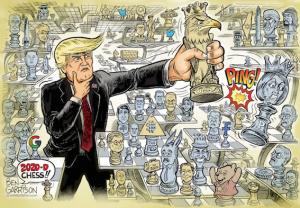 Питер Мейер - Q и команда Трампа побеждают Глубинное государство изнутри (в 3 частях) Trump-12
