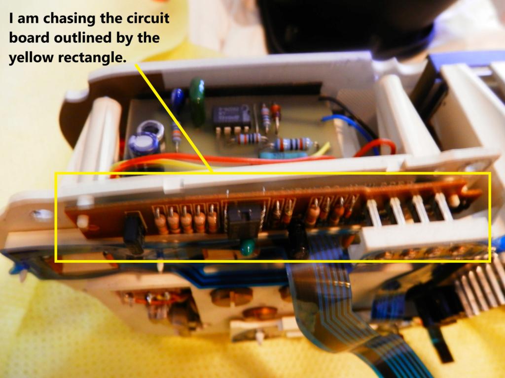 WTB Speedometer Circuit Board. Missin10
