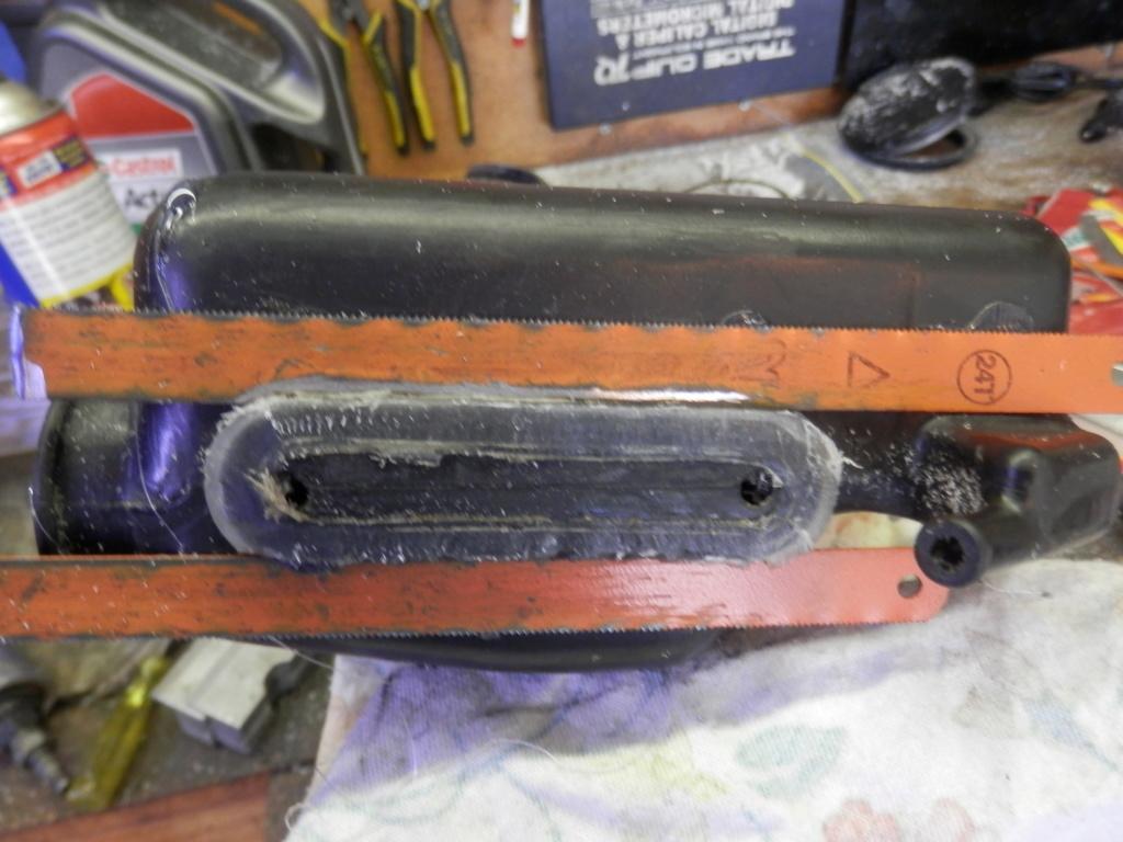 Radiator Overflow Tank Sight Glass Replacement. P1020012